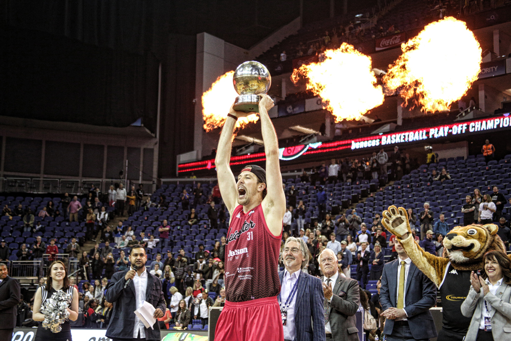 Leicester Riders Captain Andy Thomson Calls Time