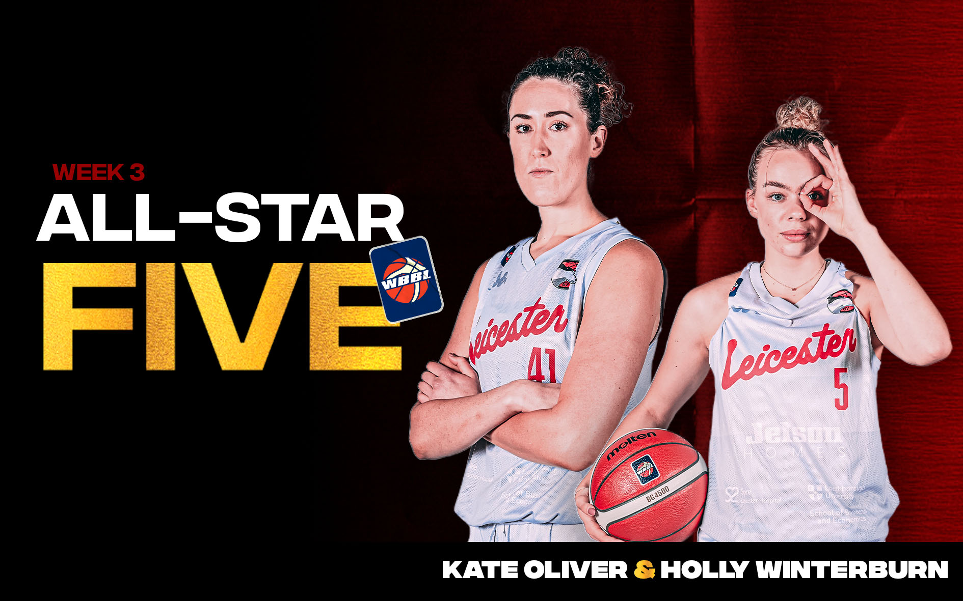 All-Star Five Selections and Molten's WBBL Coach of the Month