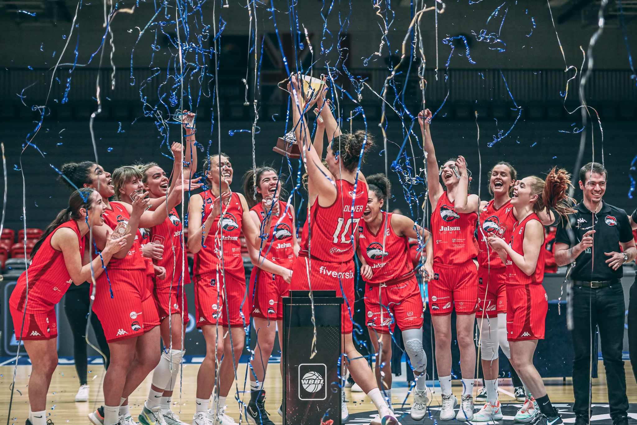 Riders are the 2021 WBBL Cup Champions