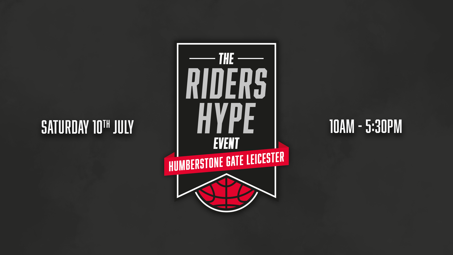 The Riders HYPE Event 2021