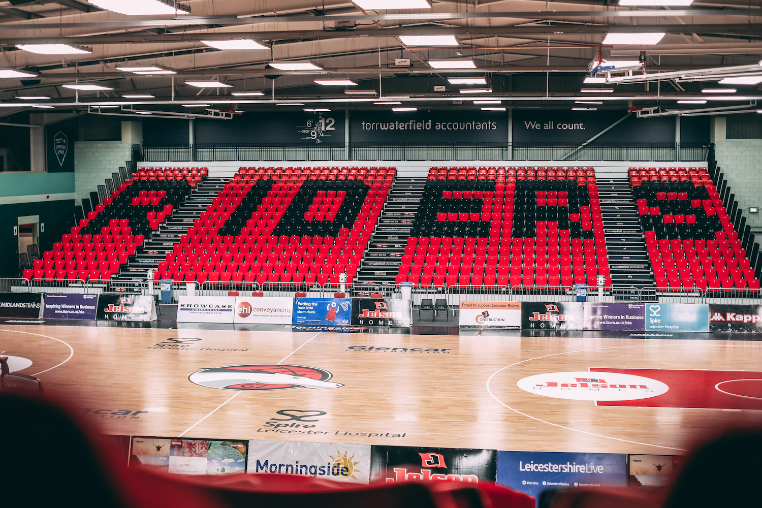 Leicester Riders Game Day Update